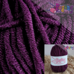 Sweet Milk Cotton Poyeng SM U3 (Purple Eggplant)